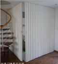 PVC折叠门软门帘折叠隔断 日本玻璃纤维布折叠门