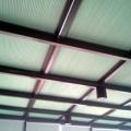 直销阳光房天窗蜂巢帘隔热降温顶棚帘 风琴帘 电动蜂巢天棚帘批发