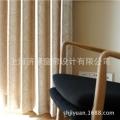 厂家直销日本SINCOL进口 高档客厅卧室 银丝提花面料 31003 窗帘