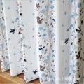 厂家直销日本SINCOL进口客厅书房卧室 三级遮光鸟语花香3203 窗帘