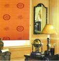 上海名成家居印花卷帘 半遮光型 111G 111Y系列 餐厅窗帘