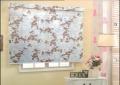 新款特价年新品名扬 树叶抽象印花卷帘 透光卷帘 MJ6201-MJ6207